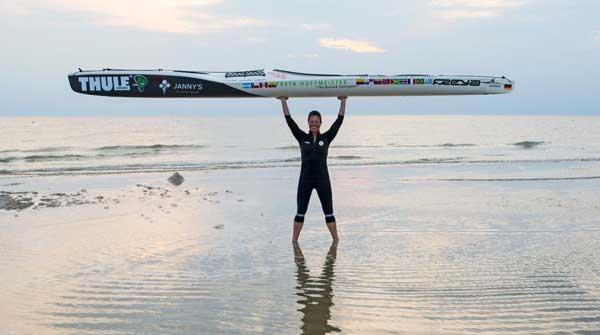 Kayak-Umrundung Südamerikas – Freya Hoffmeister erzählt in Husum davon