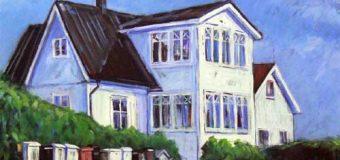 Haus Peters Tetenbüll: Saisonstart mit einer Ausstellung des Kieler Malers Thorsten K. Hiebner