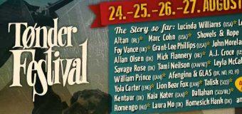Exklusive neue Namen auf dem Tønder Festival 2017