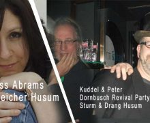 Am Wochenende im Husum: Don Ross, Jess Abrams, Poetry Slam und Dornbusch Revival Party