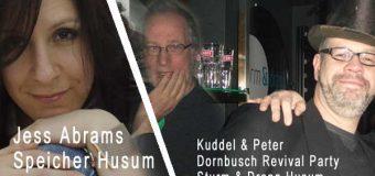 Am Wochenende im Husum: Don Ross, Jess Abrams, Poetry Slam und Dornbusch Revival Party