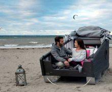 Jetzt bekommt auch die Insel Föhr Schlafstrandkörbe