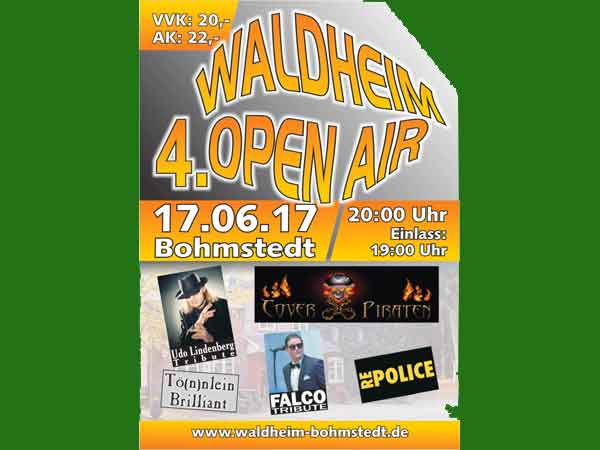 Udo, Falco, Police beim Waldheim Open Air in Bohmstedt?