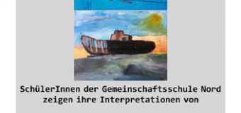 In Husum: Ausstellung in Schaufenstern – kommunikation mit dem kunstwerk