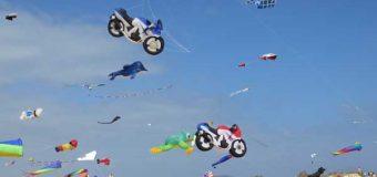 Das 11. Drachenfestival am Ordinger Strand
