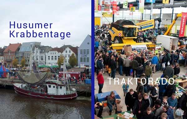 14./15. Oktober: Frische Krabben und heiße Traktoren in Husum