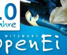 Schöne Aktion! Projekt Schutzengel-Konzerte und das Witzwort OpenEi