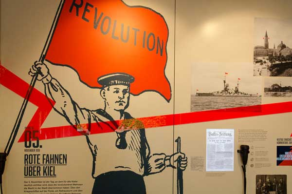 Wanderausstellung »Revolution 1918« in Husum