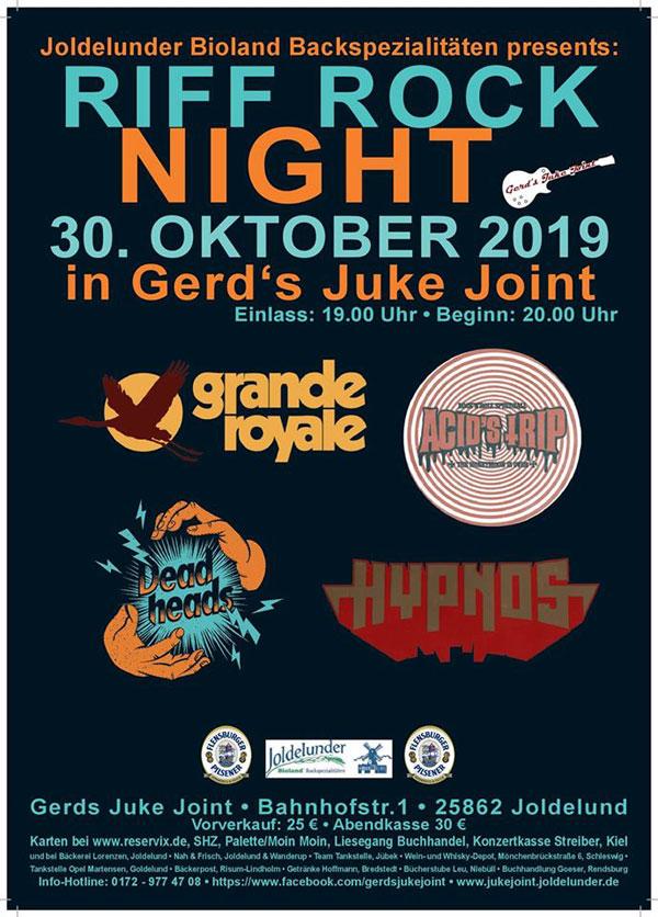 Riff Rock Night in Joldelund