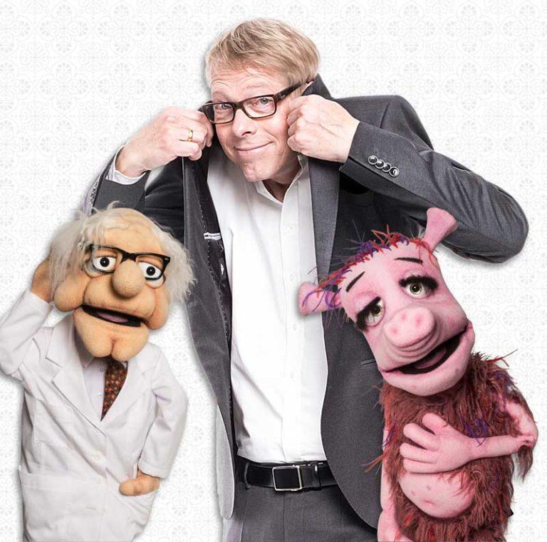 Jörg Jará – der Puppen-Psychologe in Husum