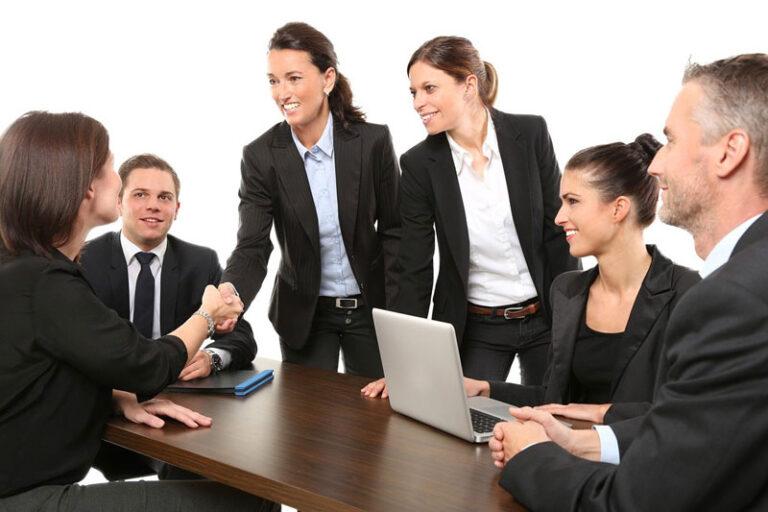 Interviews mit namhaften Firmen helfen weiter