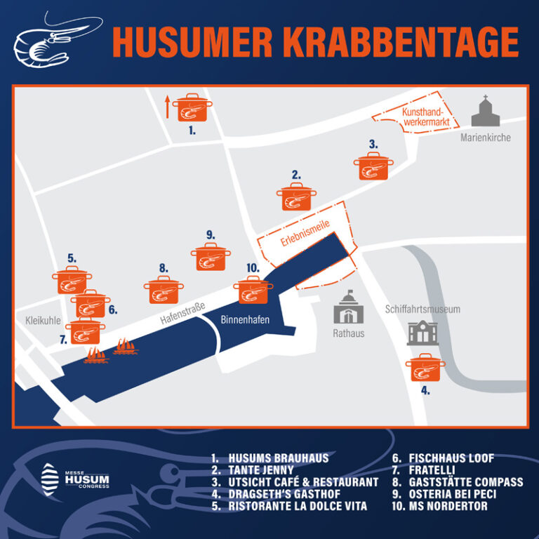 Husumer Krabbentage erstmals als Krabbenfestival