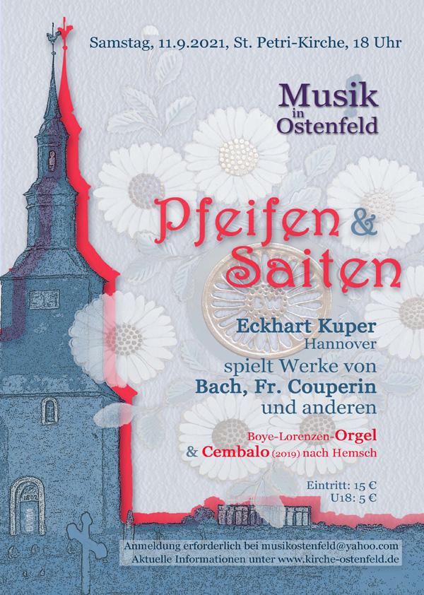 Pfeifen & Saiten – Solo-Konzert in Ostenfeld
