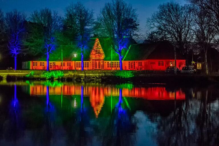 2. »Föhrer Lichterwoche«: 7 Tage – 7 Orte mit Lichtprojektionen